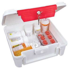 Flambeau Wall-Mounting ScriptSafe Medical Lock Box