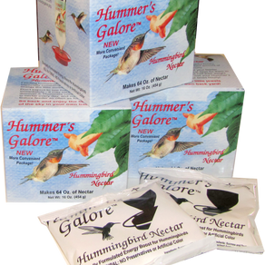 BaconProductsCorporation Hummer's Galore All-Natural Hummingbird Nectar Mix (4oz Pouch)