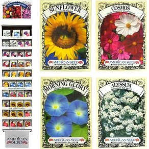 PlantationProductsLLC American Seed Finest Quality Packets (Multiple Varieties / Sizes)