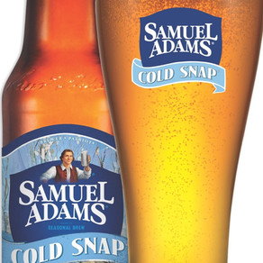 TheBostonBrewingCompany Samuel Adams Cold Snap Spiced White Ale Beer (Multiple Sizes)