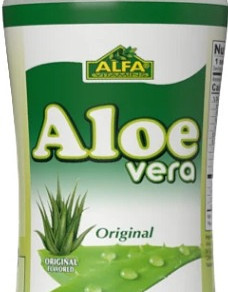 AlfaVitaminsLaboratoriesInc Original No Pulp Aloe Vera Drink 16Fl Oz Bottle (Multiple Flavors)