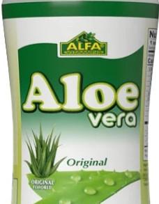 AlfaVitaminsLaboratoriesInc Original No Pulp Aloe Vera Drink 16Fl Oz Bottle (Multiple Flavors)