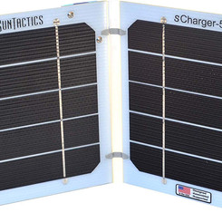 Suntactics SCharger5 Portable Solar USB Power Charger