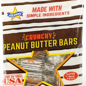 AtkinsonCandyCo Crunchy Peanut Butter Bars Gluten Free Candy (Multiple Sizes / Varieties)