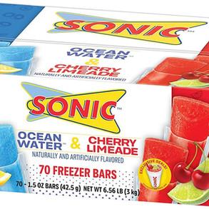 JelSertCompany Sonic Ocean Water & Cherry Limeade Freezer Bars (Multiple Sizes)