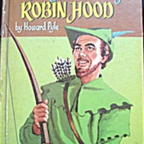 WhitmanPublishingCo WesternPrint&LithographCo Howard Pyle Merry Adventures Of Robin Hood 1955 Book