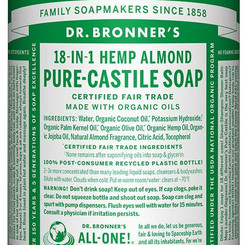 Dr Bronners Pure Castile Multipurpose Almond Soap (32oz bottle)