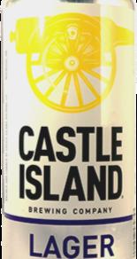 CastleIslandBrewingCo American Lager 5.2% ABV (16fl oz can)