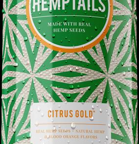 RockWallBrewingCompany Hemptails Citrus Gold Malt Beverage With Hemp Seeds (7.5fl oz can)