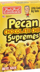 BudsBestCookiesInc Pecan Chocolate Chip Supremes Bite Size Cookies (Multiple Sizes)