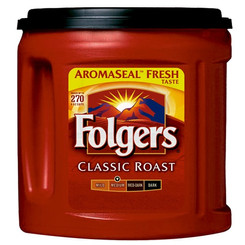 Folgers Classic Roast Ground Coffee (Multiple Flavors)