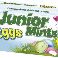 TootsieRollIndustriesLLC Junior Mints Eggs Creamy Dark Chocolate Candy (3.5oz Box)