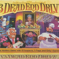 MiltonBradleyCompany 13 Dead End Drive Vintage 2-4 Player Tabletop Board Game