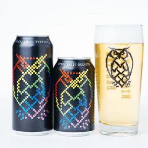 NightShiftBrewingCo Nite Lite 4.3%ABV Craft Lager Beer (Multiple Sizes)