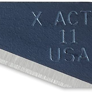 NewellBrands ElmersProducts X-Acto X-Life #11 Fine Point Cutting Blades (Multiple Sizes & Types)