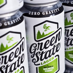 ZeroGravityCraftBrewery Green State Lager Pilsner 4.9% ABV Beer (Multiple Sizes)