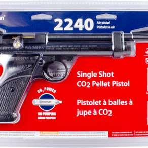 Crosman 2240 Co2 Pellet Pistol (.22caliber)