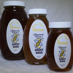 SCBeezyBeesInc Pure Raw Honey (Multiple Sizes)
