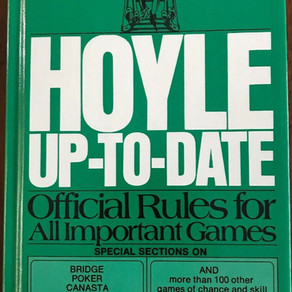 Grosset&Dunlap AlbertHMorehead Vintage Hoyle Up-To-Date Official Rules For All Important Games Book