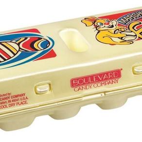 ZacharyConfectionsInc BoulevardCandyCo One Dozen Marshmallow Eggs Seasonal Candy (4.5oz Carton)