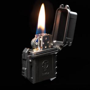 Thyrm PyroVault Zippo Lighter Insert Armor (Multiple Colors)