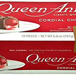 WorldsFinestChocolateInc Queen Anne Milk Chocolate Covered Cordial Cherries (Multiple Sizes)