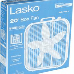 Lasko 20inch 3speed Box Fan (Floor / Window Cooling)