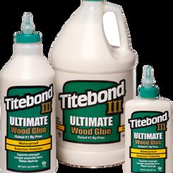 FranklinInternational Titebond III Ultimate Waterproof Wood Glue (Multiple Sizes)