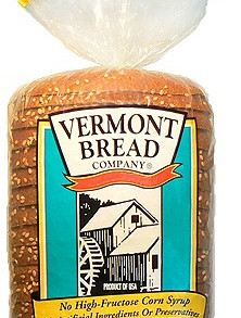 VermontBreadCompany Soft 10 Grain All-Natural Pre-Sliced Bread Loaf