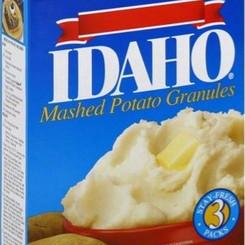 BasicAmericanFoods Idaho Mashed Potatoes In Stay-Fresh Packs (Multiple Sizes))