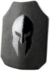 SpartanArmorSystems Sentinel AR500 Ballistic III+ Plate Armor (Multiple Sizes / Styles)