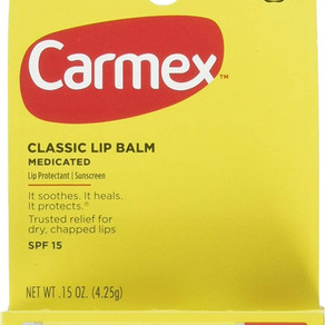 CarmaLaboratoriesInc Carmex Classic Stick SPF15 Medicated Lip Balm Protectant (Multiple Sizes)
