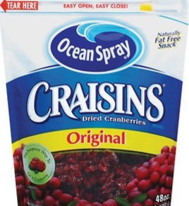 OceanSprayCranberriesInc Craisins Sweetened Dried Cranberries Fruit Snack (Multiple Sizes / Flavors)
