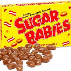 TootsieRollIInc CharmsLLC Sugar Babies Chewy Candy Coated Milk Caramels (Multiple Sizes)