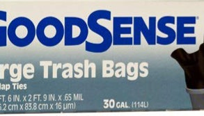 AEPIndustriesInc GoodSense Kitchen / Construction / Small & Large Plastic Bags (Multiple Varieties)