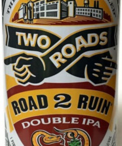 TwoRoadsBrewingCo Two Roads Double / Session / Honeyspot Road IPA 8% ABV Beer