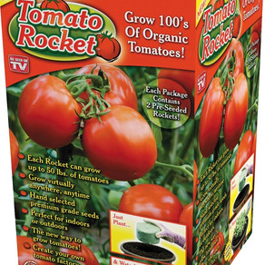 GardenInnovationsLLC Tomato Rocket Premium-Grade Pre-Seeded Planter Rolls