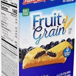 Schulze&BurchBiscuitCo Flavor Kist Fruit & Grain Apple Cinnamon / Blueberry / Strawberry Cereal Bars