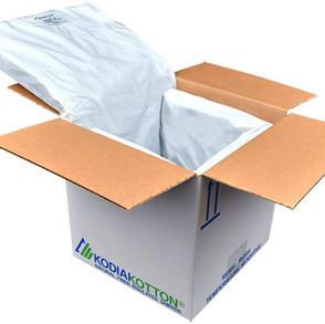 KodiaKooler KodiaKotton KwickPack Natural Fiber Insulated Shipper (Multiple Sizes)