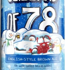 WormtownBreweryLLC Blizzard Of 78 English Style Brown Ale With Coffee Beans 6% ABV (Multiple Sizes)
