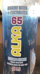 NAMHoldingsLLC Alka-65 Purified Alkaline Water With Electrolytes (50.7fl oz Plastic Bottle)