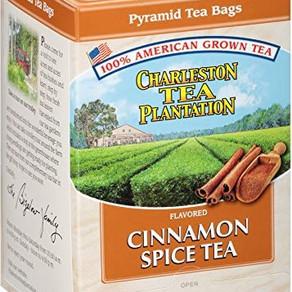 BigelowTea CharlestonTeaPlantation Flavored Cinnamon Spice Pyramid Tea Bags (12pack 1.05oz)