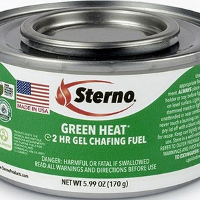 TheSternoGroupLLC / SternoProducts 2hour Green Heat Ethanol Gel Chafing Fuel