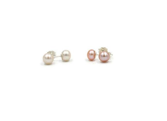 Boucles d'oreilles «Les perlières»