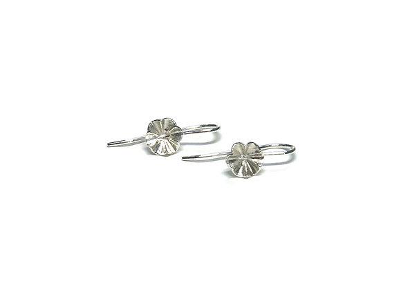 Boucles d'oreilles «Fleuries»