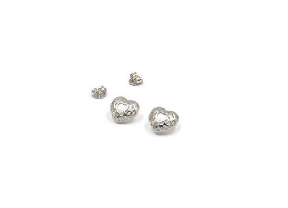 Boucles d'oreilles «Coeurs»