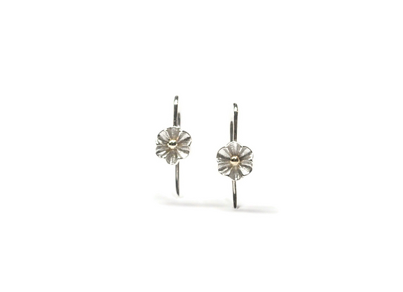 Boucles d'oreilles fleuries par Créations GLi