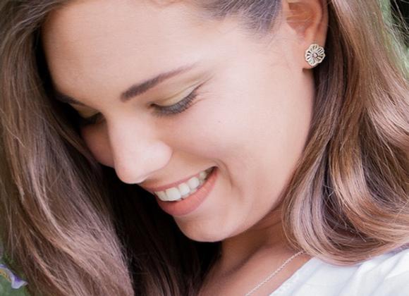Boucles d'oreilles «Fleuries» par Créations GLi