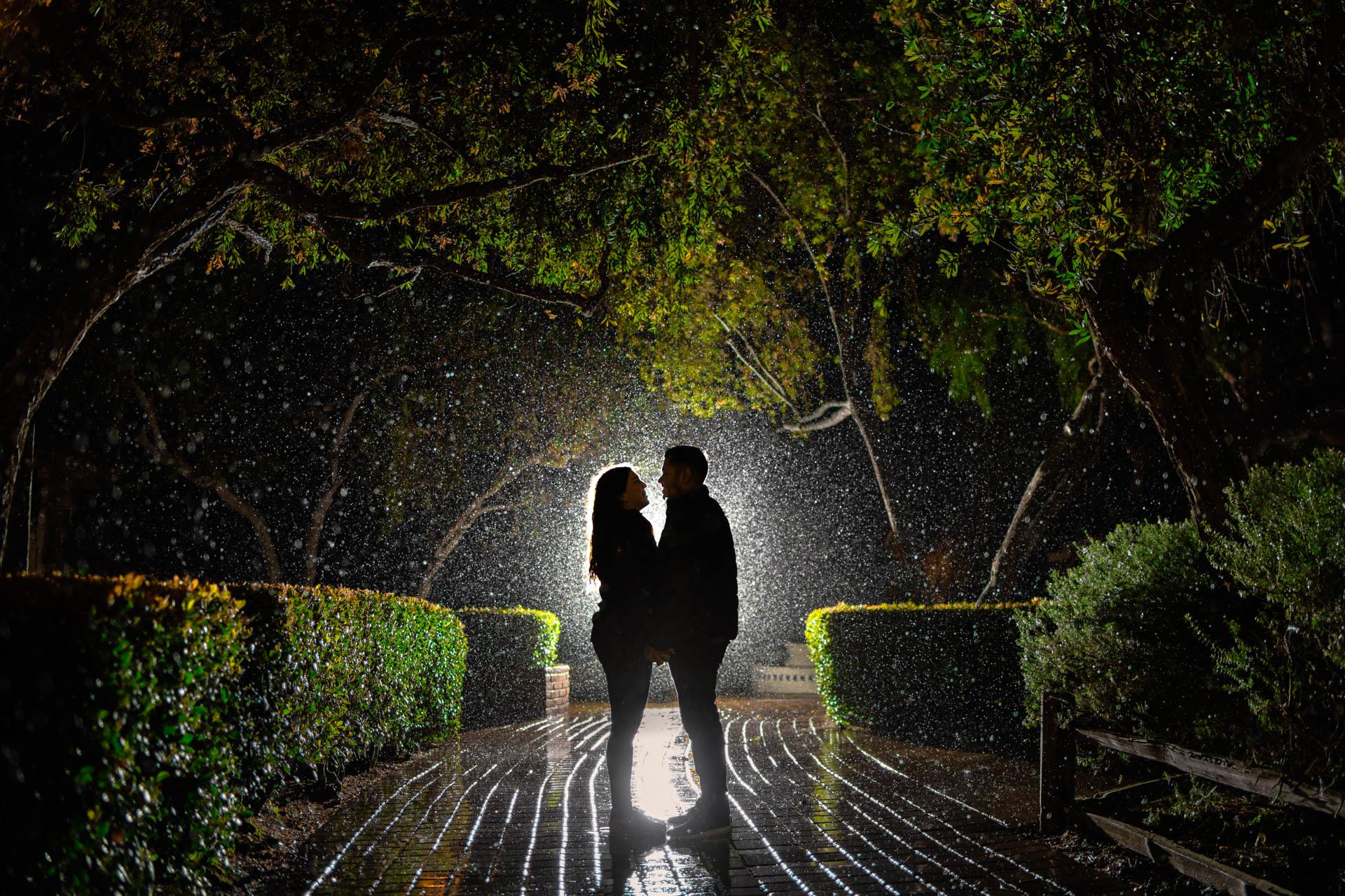Fotografia de Boda - Foto de sesion bajo la lluvia