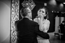 Fotografia de Boda - foto de la novia bailando el vals con su papa